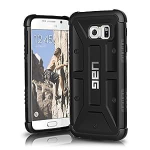 Protection UAG Pour Samsung Galaxy S6, Composite Poids Plume [NOIR], Conforme Aux Tests Militaires De Protection Du Téléphone En Cas De Chute