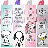 Snoopy Collection - Lesezeichen 4er Set