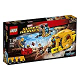 Lego 76080 - Jeux de Construction - Ravager Attack Marvel