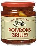 PIETRO CASTELLI Poivrons Grillées 280 g - Lot de 4