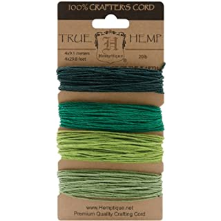 Hemptique Hemp Card (Set of 4) Shades of Emerald