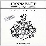 Hannabach Cuerdas para guitarra cl?sica, Exclusive Series. Medium tension Juego 3 cuerdas. Bajo