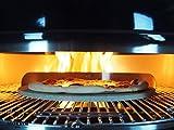 Smokin' PizzaRing - Komplettpaket für Pizza! Backe die perfekte Pizza in deinem Kugelgrill! -