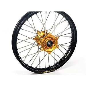Roue avant yz80/85 96-10 19x1,40x32t, jante noire moy... - Haan wheels HW7740032