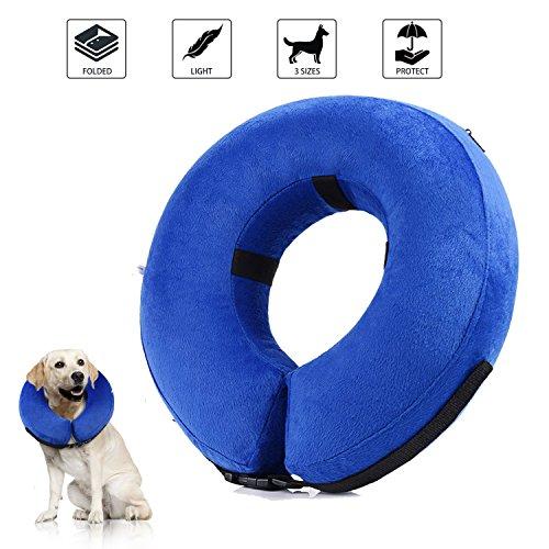 YAMI Collar de recuperación Inflable para Perros