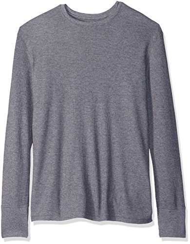 80 Medium Natural (Fruit of the Loom Herren Thermo-Top Natural Touch - grau - Medium)
