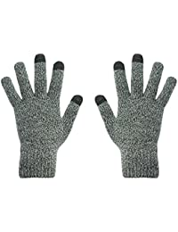 hi-fun hi-Classic Glove Glove for Touch Screen/Mobile Phone/Smartphone/Tablet Men's Grey