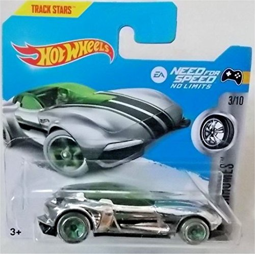 "2017 Hot Wheels Super Chromes Gazella GT EA ""Need for Speed"" No Limits 207/365 (Short Card)"