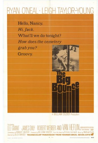 The Big Bounce-Poster In Movie 11 17 x 28 cm x 44 cm, Ryan O'Neal-Leigh Taylor Young Van Heflin James Daly