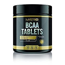 Matrix Nutrition Bcaa Tablets - Branched Chain Amino Acids - Leucine - Isoleucine - Valine. (240 Tablets)