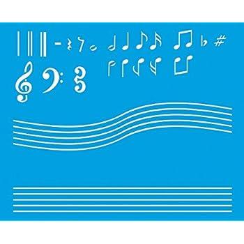 21cm X 17cm Reusable Flexible Plastic Stencil For Graphical Design