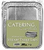 handi-foil 10014.010Catering Essentials halbe Größe Dampf Tisch Deckel (10Stück)