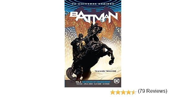 Batman 33 34 35 Complete Rebirth Rules of Engagement Comic Lot Run Set Tom King
