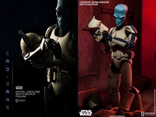 Sideshow Star Wars The Clone Wars Cad Bane in Denal Disguise 1/6 Scale 12 Figure by Sideshow