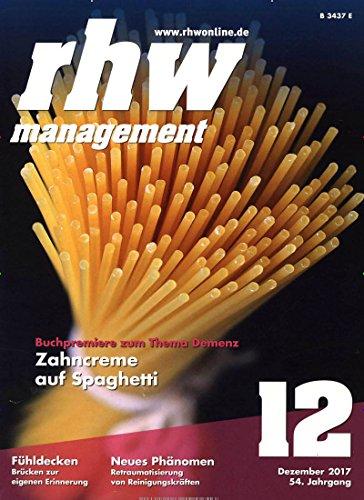 rhw management rationelle hauswirtschaft [Jahresabo]