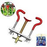 Bonsai ramo potatura Bender, DIY strumento modelli Twig tronco regolatore piccolo Bender curvo dispositivo Taglia libera Red