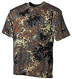 US Army T-Shirt flecktarn XS-XXL M M,flecktarn/BW camo