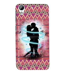 Fuson Love Valentine Case Cover for HTC Desire728