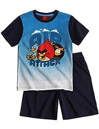 Angry Birds Garçon Pyjama court 2016 Collection - bleu marine
