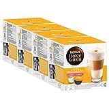 Nescafé Dolce Gusto Latte Macchiato Light, weniger Kalorien, Kaffee, Kaffeekapsel, 4er Pack, 4 x 16 Kapseln (32 Portionen)