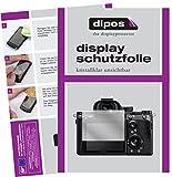 dipos I 6X Schutzfolie klar passend für Sony A7R III Folie Displayschutzfolie