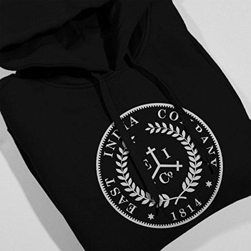 Taboo East India Company Coin Logo Women's Hooded Sweatshirt Black