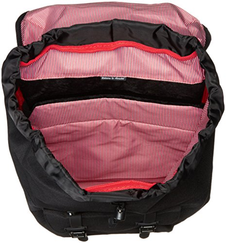 Little America Backpack Black/Black