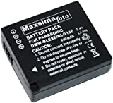 Maxsimafoto - Battery for Panasonic Lumix DMC-GF3, GF5, GF6, GX7, LX100, TZ80, TZ81, TZ100 Compatible with DMW-BLG10, DMW-BLG10E.