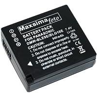 Maxsimafoto Batterie pour Panasonic Lumix DMC-GF6, GX7 compatible avec DMW-BLG10, DMW-BLG10E.