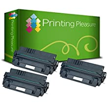 3x Tóner Compatible con HP Laserjet 5000 / 5100 / Canon Imageclass 2200 / 2210 / 2220 / 2250 / LBP-1610 / LBP-1620 / LBP-1810 / LBP-1820 / LBP-62x / LBP-840 / LBP-850 / LBP-870 / LBP-880 / LBP-910 / FP-300 / FP-400 / GP-160F / C4129X / 29X / EP-62 / 3842A002AA Negro (Black), Alta Calidad