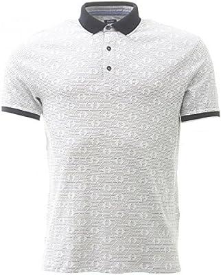 Armani Shirt Polo Double Eagle in White