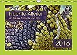 Früchte-Allerlei an Baum, Strauch und Co. (Wandkalender 2016 DIN A4 quer): Kreationen von knallgelb bis feuerrot (Monatskalender, 14 Seiten ) (CALVENDO Natur)
