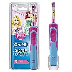 Idea Regalo - Oral-B Stages Spazzolino Elettrico per Bambini con Principesse Disney