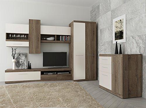Tokio Living Room Furniture Set 2 Door Wardrobe Tv Cabinet
