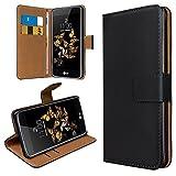 eFabrik Tasche für LG K8 Schutztasche Cover Wallet Etui,