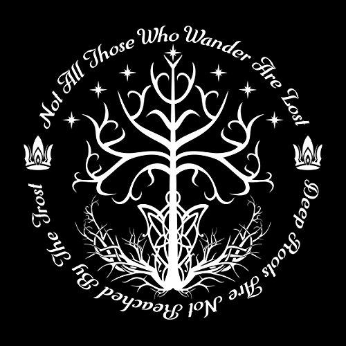 Lord Of The Rings White Tree Of Hope Men's Vest Black