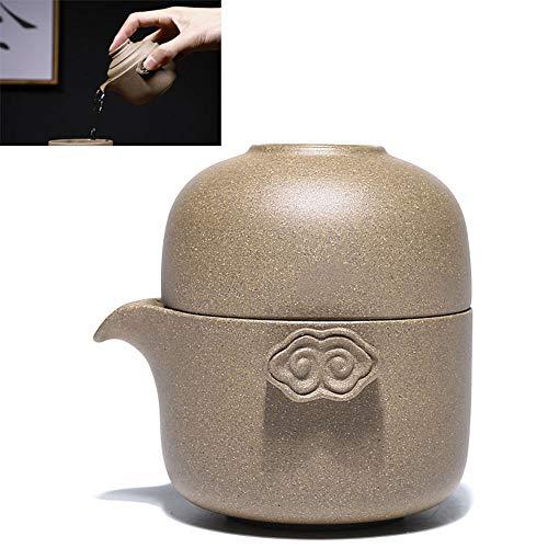Traditionelle Chinesische Handmade Tee Set,Zisha Topf, Verwende Den Originalen Mine Dragon Section Schlamm, Einen Topf Und Eine Teetasse,A