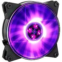 Cooler Master MasterFan Pro 120 Air Pressure RGB Carcasa del ordenador Ventilador - Ventilador de PC (Carcasa del ordenador, Ventilador, 12 cm, 650 RPM, 1500 RPM, 6 dB)