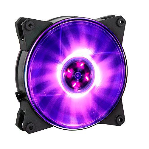 Cooler Master MasterFan Pro 120 Air Pressure RGB Ventola per Case 'RGB LED, 650 - 1,500 +/-10% RPM, 120mm' MFY-P2DN-15NPC-R1