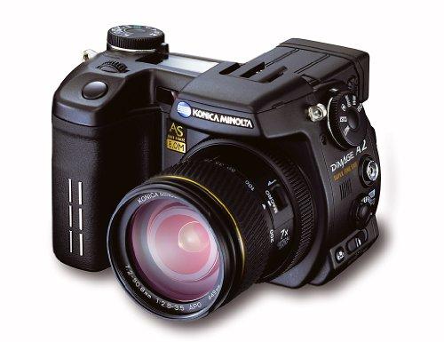 Konica Minolta DiMAGE A2 Appareil photo numérique type SLR 8 Mpix zoom optique : 7 x mémoire prise en charge : CF, Microdrive