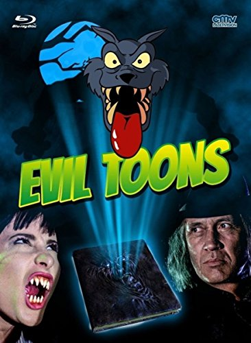 Evil Toons - Limitiertes Mediabook [Blu-ray] [Limited Edition]
