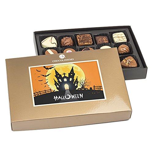 Halloween-Pralinen - Halloween Geschenke, Halloween Süßigkeiten, Halloween Schokolade, Geschenke zu Halloween