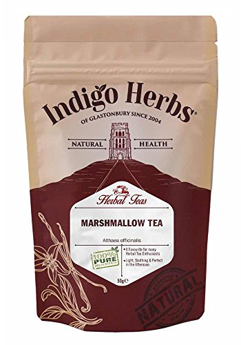 Marshmallow (Althaea Officinalis) Leaves Loose Herbal Tea - 50g Test