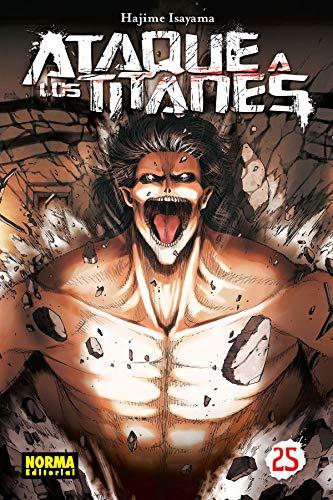 Ataque a los Titanes 25 por Hajime Isayama