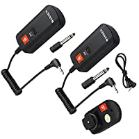 MagiDeal DC-04 4 Channels Wireless Radio Flash Trigger Sending and Receiver Kit