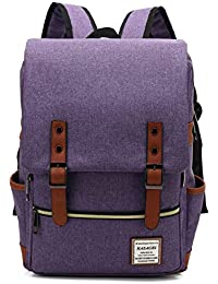 f68ddc83de HASAGEI Vintage Unisex Casual School Bag Travel Laptop Backpack Rucksack  Daypack Tablet Bags