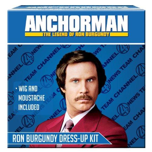 Anchorman Ron Burgundy Dress Up (Anchorman Kostüm)