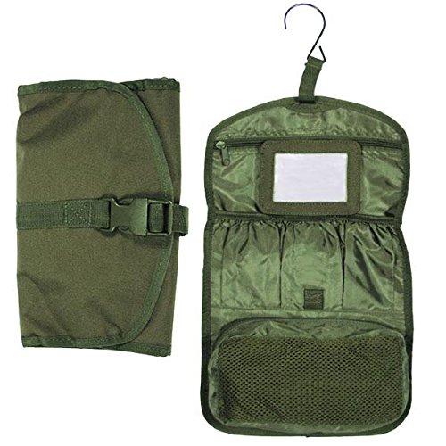 Kulturtasche Bundeswehr Army Toilettentasche Beutel Tasche Camping Zelten Outdoor Survival Reisen Urlaub Schminktasche Ausrüstung Kosmetikbeutel #15794 Survival Zelten