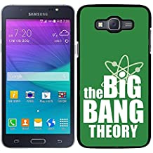 FUNDA CARCASA PARA Samsung Galaxy Grand 3 THE BIG BANG THEORY LOGO MOD.2