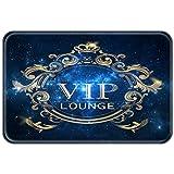 YISUMEI 40x60 cm Teppich Türvorleger Sauberlaufmatte Fußabtreter VIP Lounge Galaxy